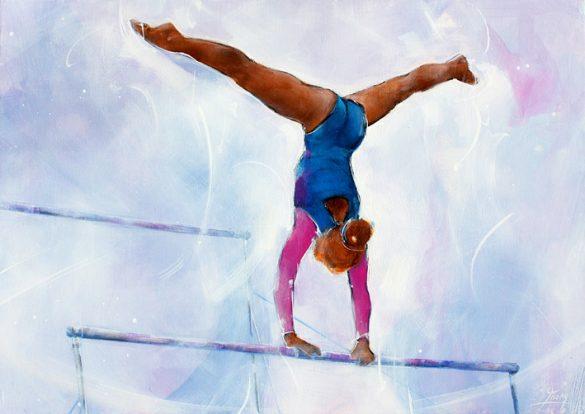 La gymnastique est un sport qui existe depuis très longtemps, originaire de la Grèce antique. La gymnastique a été le premier sport féminin à exister,